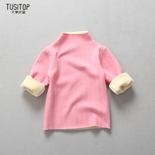Children Autumn Winter Sweater Boys Sweater Christmas Costume Thick School Sweater For Girls Furtleneck Kids Pullover New Year