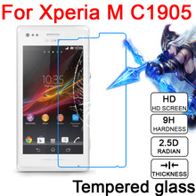 Buy 2.5D 0.33mm 9H Explosion scratch Proof LCD Tempered Glass Screen Protector Film Sony Xperia M C1904 C1905 Protective Film for $1.46 in AliExpress store
