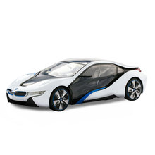 Rastar Licensed BMW I8 1:14 luxury Remote Control rc Car and drone game electric toys for kids 49600-14