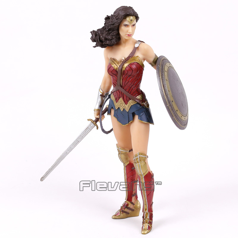 Crazy Toys DC COMICS Super Hero Wonder Woman 1/6 th Scale PVC Figure Collectible Model Toy 12inch 30cm<br>