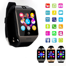 Smart watch Q18s Support Bluetooth NFC GSM SIM TF Card Video Camera Support Android Mobile Phone Xiaomi PK GT08 GV18 U8 DZ09