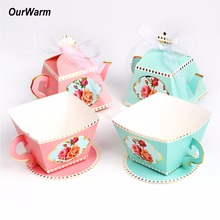 OurWarm 10pcs/pack Wedding Favors and Gifts Wedding Gifts Souvenirs Birthday Party Decorations Kids(China)