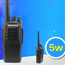 TG-580 Walkie Talkie 5W 400-480MHz Frequency Portable Radio Set Ham Radio Hf Transceiver Handy Two Way Radio 1800mAh Pagers(China)