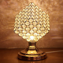 Creative Magic Cube Table Lamp Crystal Decorative Desk Lamp Bedroom Bedside Light Modern Simple Wedding Decoration Crystal Lamp