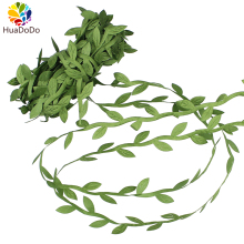 6meters Silk Green Leaves Rattan Artificial Flower DIY Garland Accessory For Home Wedding wreaths Decoration