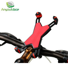 Anyoutdoor Bicycle Accessories phone stand can be Bicycle Computer navigation cycling phone bracket(China)