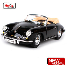 Maisto Bburago 1:24 PSC 356B Coupe(1961) Retro Classic Car Diecast Model Car Toy New In Box Free Shipping 22079