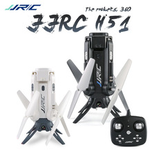 In Stock! JJRC H51 Rocket-like 360 WIFI FPV With 720P HD Camera Altitude Hold Mode RC Selfie Elfie Drone Quadcopter VS JJR/C H37(China)