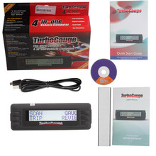 Hot sale Newest TurboGauge IV Auto Computer Scan Tool Digital Gauge 4 in 1 Partial country free shipping(China)
