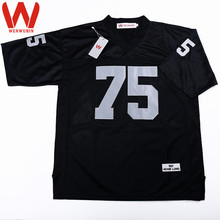WENWUBIN Mens #75 Howie Long Embroidered Throwback Football Jersey