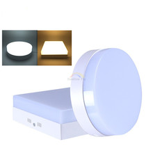 6W/12W/18W/24W Round/Square Led Panel Light Surface Mounted Downlight lighting Led ceiling down AC85-265V + Driver