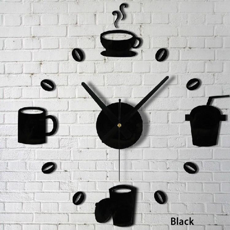 HTB1ob4OmxPI8KJjSspoq6x6MFXam - 20 PCS/Set Quartz clocks fashion Stickers Coffee Cups Kitchen Wall Art