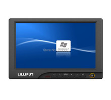 "LILLIPUT 869GL-80NP/C/T 8"" TFT LED 4-wire resistive touch screen monitor with AV VGA HDMI good for car PC hosts monitor"