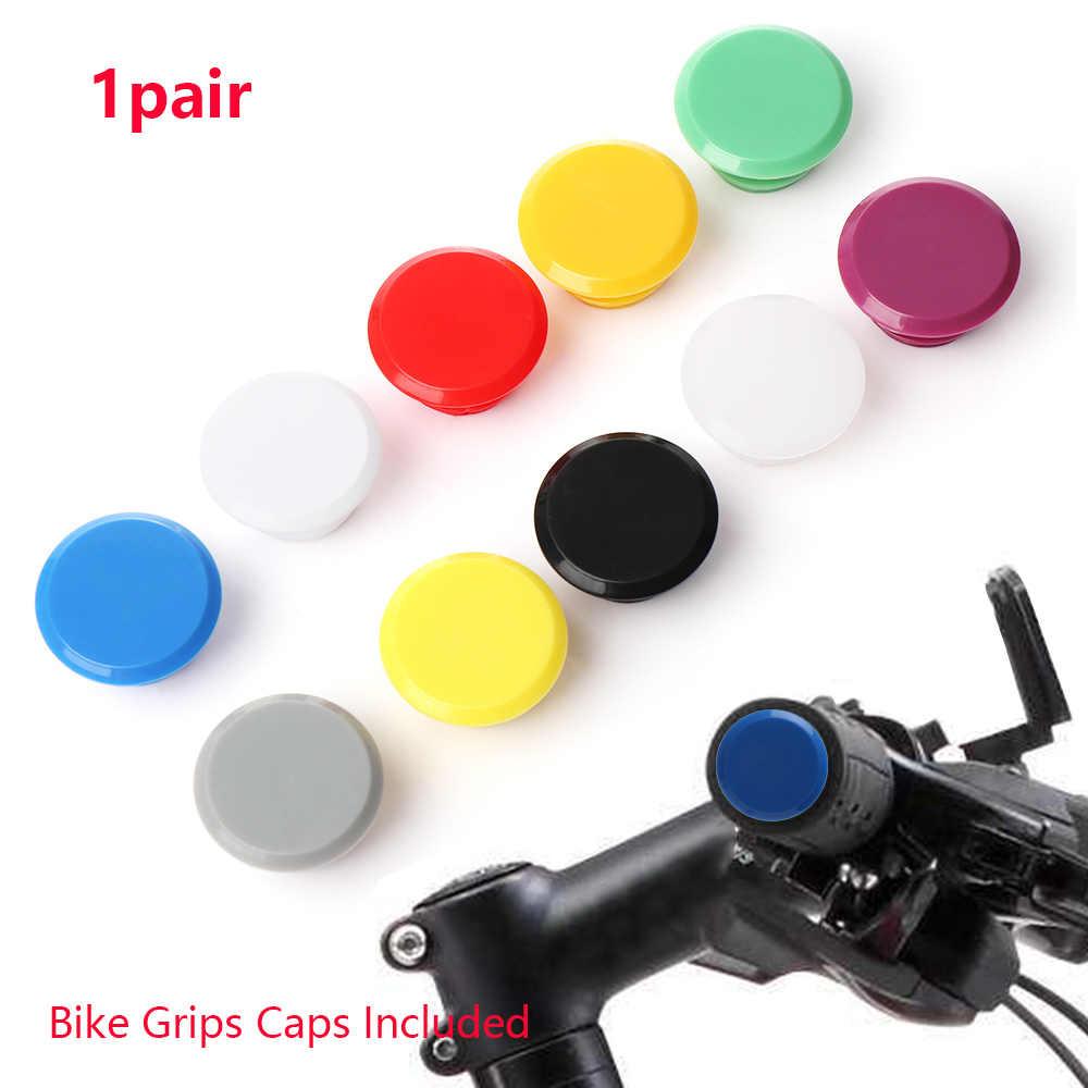 1PC MTB Road Bike Bicycle Aluminum alloy Handlebar Bar Caps Plug Hot Sale