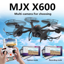 MJX X600 2.4G 6 Axis can add camera FPV Real time function FPV wifi helicopter RTF rc drone vs mjx X400 mjx x101 cx-10w