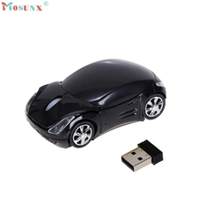 Adroit 2.4GHz Wireless Mouse Car Shape 1200DPI Optical Gaming Maus USB Scroll Mice Muis 20S7322 drop shipping