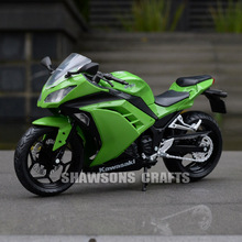 1:12 DIECAST MODEL TOYS KAWASAKI NINJA MOTORCYCLE SPORT BIKE REPLICA COLLECTION(China)