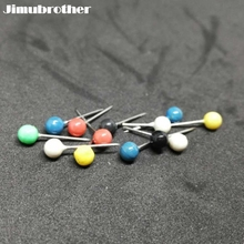 1.3cm Thread pin for fixed line board fishing gears and carp products for cheap fishing accessories supplier 50pcs/lot