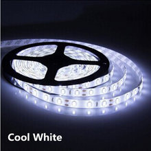 1m 2m 3m 4m 5m DC 12V 5630 LED Strip Lights Flexible LED Lights Strip Waterproof Fita 60 LED/M With Self-adhesive Back Tape(China)