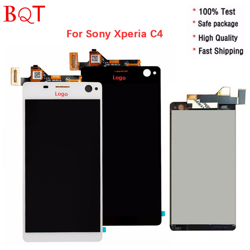 Original 5.5 Inch for Sony Xperia C4 E5333 LCD Display With Digitizer Touch Screen Full Assembly High Quality<br><br>Aliexpress