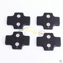 Button lock RIGS cover lock protective cover car door lock lid for Ssangyong Korando 2012 2013 2014 2015