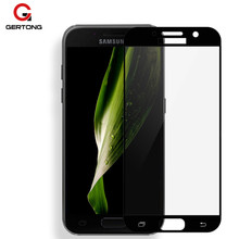 Buy GerTong Full Cover Screen Protector Samsung Galaxy J5 2016 J3 J7 Tempered Protective Glass Samsung J5 2017 J 5 3 7 Film for $1.09 in AliExpress store