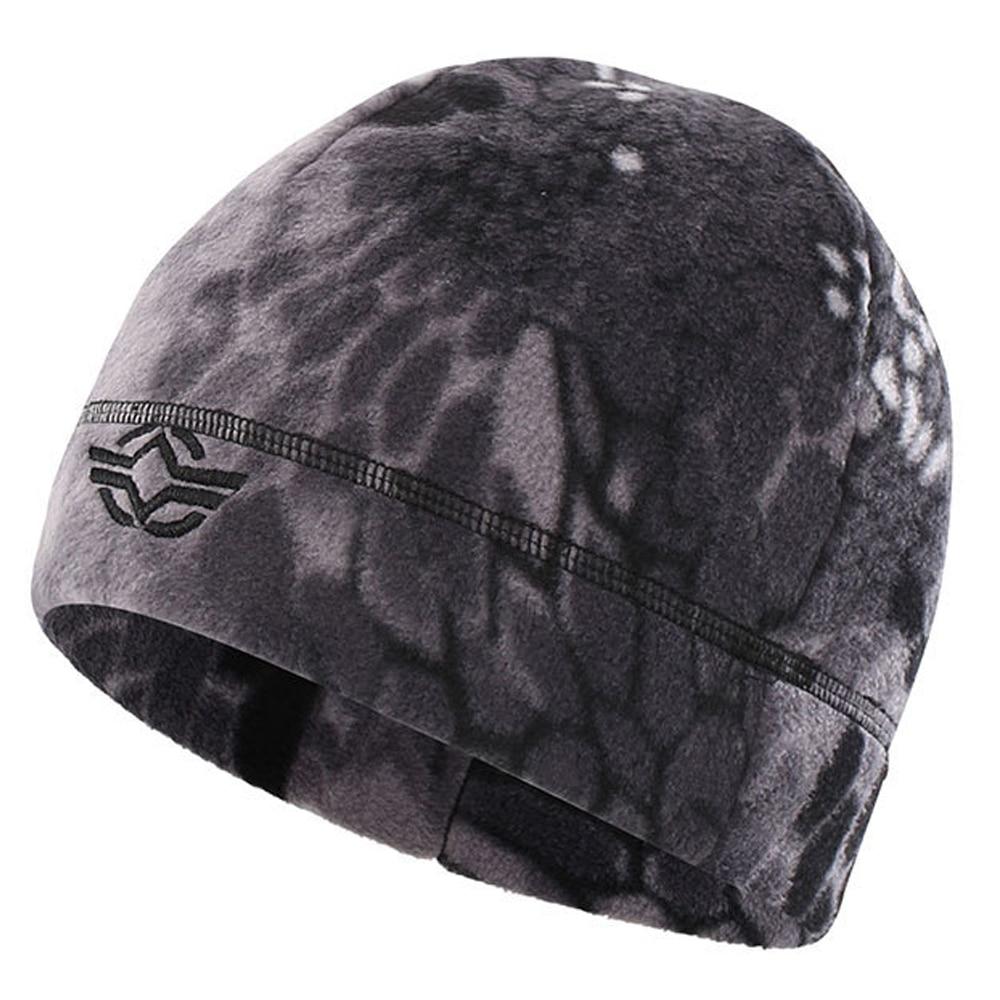 Skullcap Windproof Fleece Hats Military Tactical Cap Ski Baggy Hat Hiking Caps