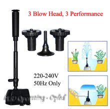 high power Fountain water pump, fountain maker pump for pond pool garden aquarium fish tank,water circulate &air oxygen increase