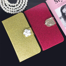 Buy Flip Phone Case Cover ZTE AF3/T221/A3/A5/A5 PRO Original Rhinestone Cases Bling Fundas Diamond Coque Glitter Capa for $3.80 in AliExpress store
