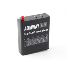 Newest Aomway RX004 DVR 5.8G 32CH Video Receiver With Built In Video Recorder For RC Model Accessories