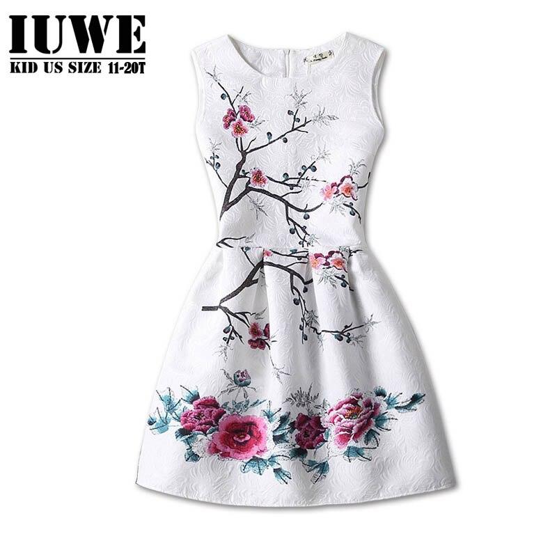 Girl Elegant Floral Dress for 12 Years Princess Flower Childrens Costumes for Ceremony Ball Gown Dress Girl traje de nina tu tu<br><br>Aliexpress
