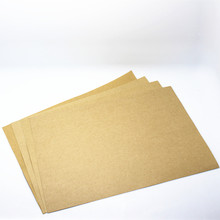 "21*29.7cm 150Pcs/ Lot Blank Suitable 80gsm A4 Kraft Paper 8.26""x11.69"" Light Brown Craft Copy Paper School Office Supplies"