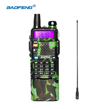 BAOFENG UV-5R camouflage 136-174 / 400-520 Mhz Dual Band Walkie Talkie with 3800 mAh li-ion battery Two way Radio VHF/UHF(China)