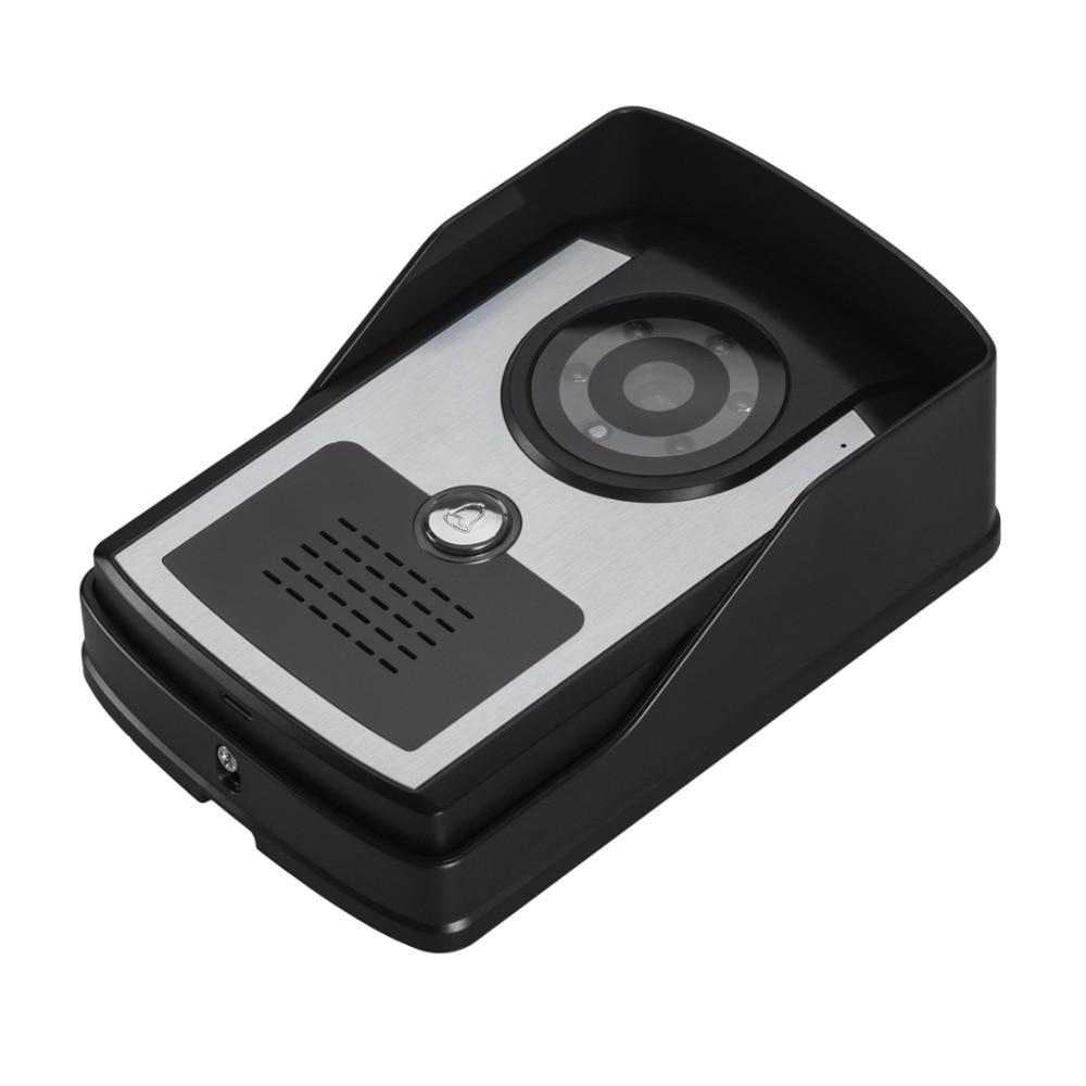 With night vision and unlock function Doorbell door phone outdoor unit Metal panel 700 line HD camera<br>