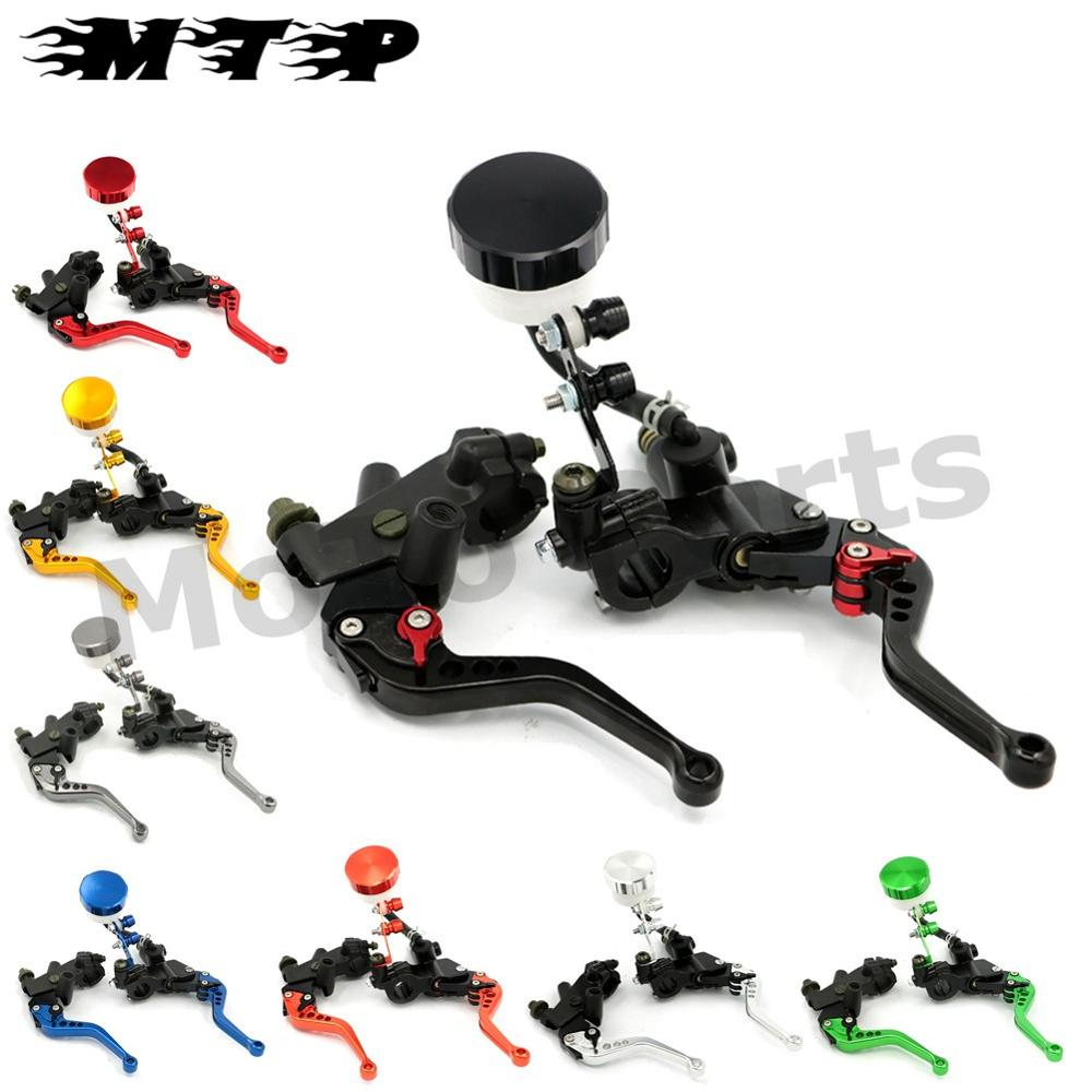 7/8 inch 22MM Brake Clutch Levers Master Cylinder Fluid Reservoir Adjustable CNC for Yamaha YZF R1 R6 R6S MT01 MT03 MT07 MT09<br><br>Aliexpress