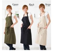 5pcs Wholesale clean cotton kitchen aprons cute japan women apron factory direct sale South Korea apron high-grade apron