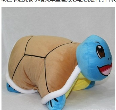 Free shipping  46cm Pokemon Squirtle Figure Plush Doll Stuffed Toys Cute Foldable Pillow Turtle Cushion Kids Soft Dolls<br><br>Aliexpress