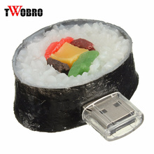 TWOBRO Food creative sushi rice model pendrive pen drive  8gb 4gb usb flash drive 16gb 32gb memory stick 1gb 2gb u disk gifts