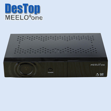 Best selling strong full HD satellite tv receiver MEELO one 750 DMIPS Processor Linux Operating System 3pcs/lot byDHL free