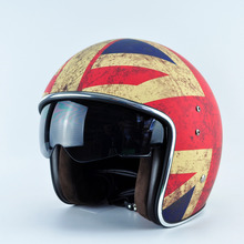 New arrival Germany Marushin motorcycle helmet Capacete casque casco vintage 3/4 scooter vespa retro open face halley motohelmet