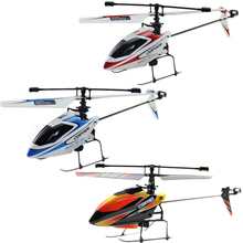 WL V911 drone with gyro RC Helicopter 4CH 2.4GHz remote control toys helicoptero de controle remoto a(China)