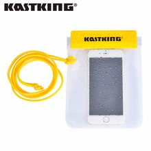 KastKing Waterproof Fishing Bags with Strap Dry Bag Cases Cover for Samsung galaxy S7 for iPhone 6 5S SE 6S Plus