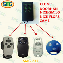 Free shipping Doorhan,NICE,CAME,Russia market copy remote control transmitter,handsender, keyfob(China)