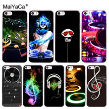 Buy MaiYaCa ddj dj music Coque Shell Phone Case Apple iPhone 8 7 6 6S Plus X 5 5S SE 4S Cover Cover for $1.05 in AliExpress store