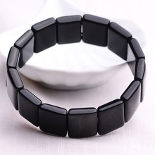Natural AAA Rainbow Obsidian stone bracelet bangle high quality bracelets bangles handrow health care Anti radiation / fatigue