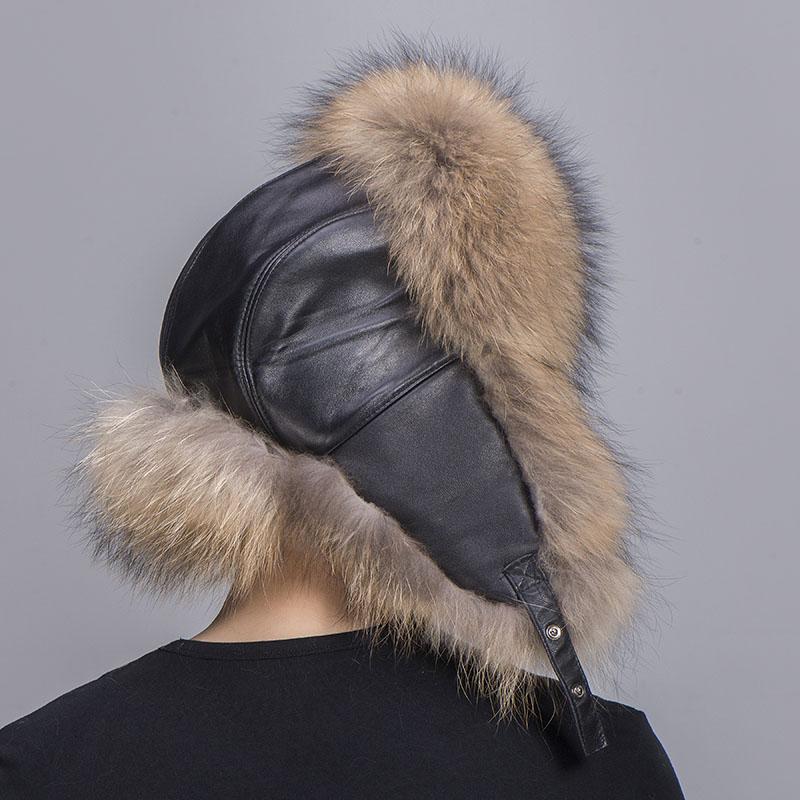 big fur hat raccoon fur 6