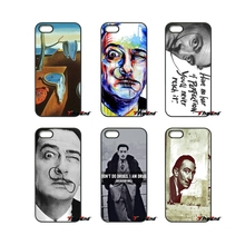 For iPhone 4 4S 5 5C SE 6 6S 7 Plus Samsung Galaxy Grand Core Prime Alpha Pouch Salvador Dali fashion cell phone Case Cover(China)