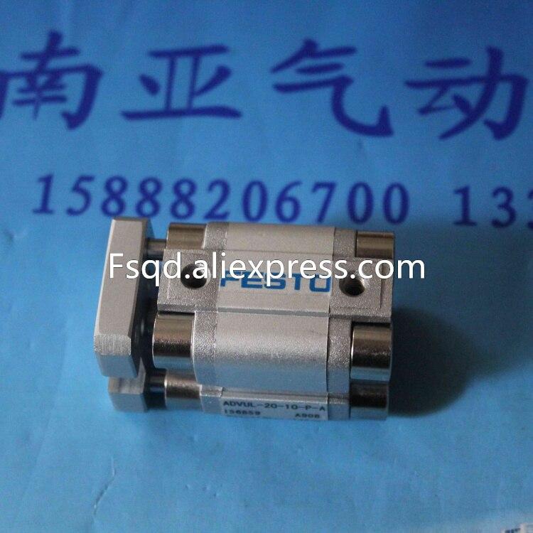 ADVUL-20-30-P-A  Thin cylinder air cylinder air tool pneumatic cylinder FESTO<br>