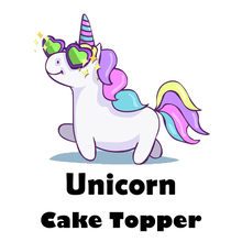 JOY-ENLIFE 1set Cute Unicorn Party Cupcake Topper Happy Birthday Party Baby Shower Children Party Decor Kids Cake Decor Supplies(China)