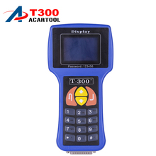 Professional Universal Car Key Programmer T300 Newest version T300 Auto Transponder Key Decoder T-CODE T300 English or Spanish(China)